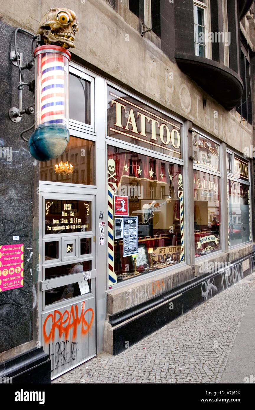 Tattoo Berlin Prenzlauer Berg Tattoo Saloon N East Berlin Trendy District Prenzlauer Berg