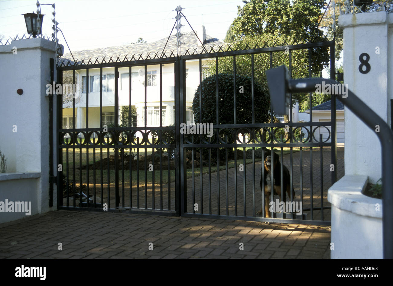 Luxury Home Entrance Elaborate Wrought Iron Gates At Entrance To Luxury Home In