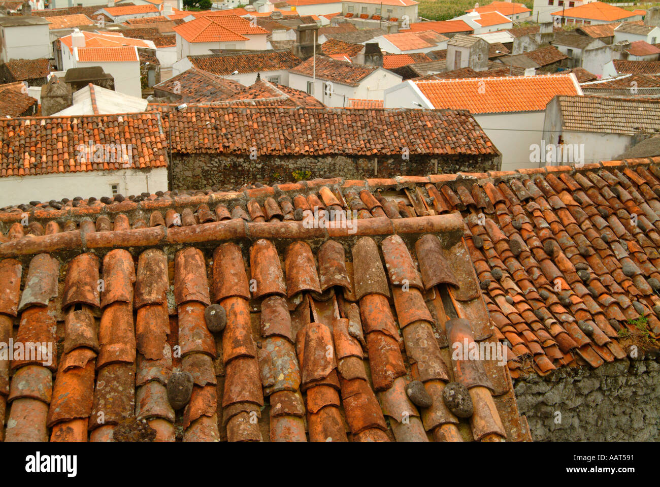 Spanish Tile Countertops Quaint Houses With Red Roofs Stock Photos And Quaint Houses