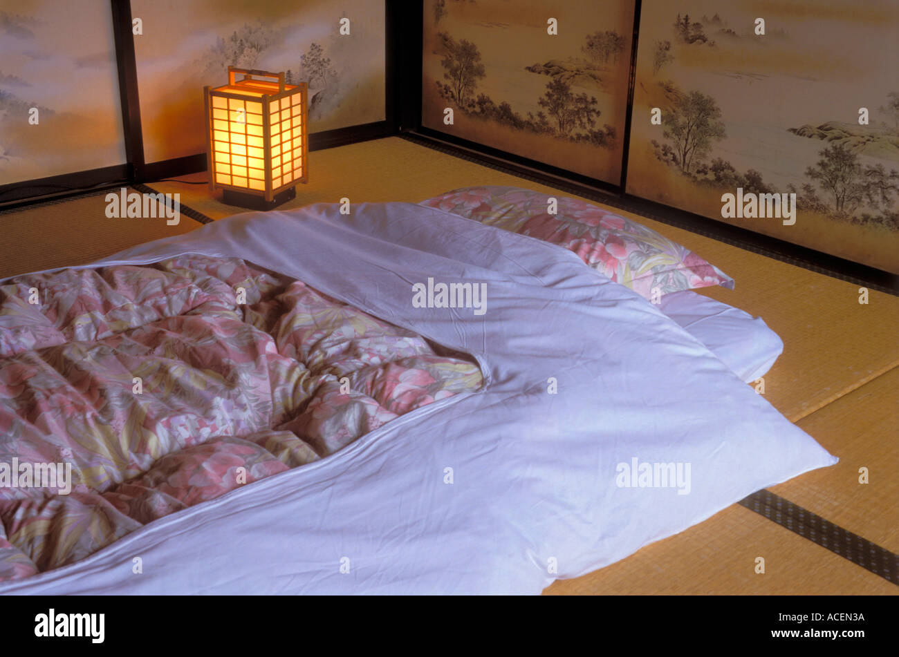 Futon Japan Traditional Japanese Bedding Known As A Futon Is Used On