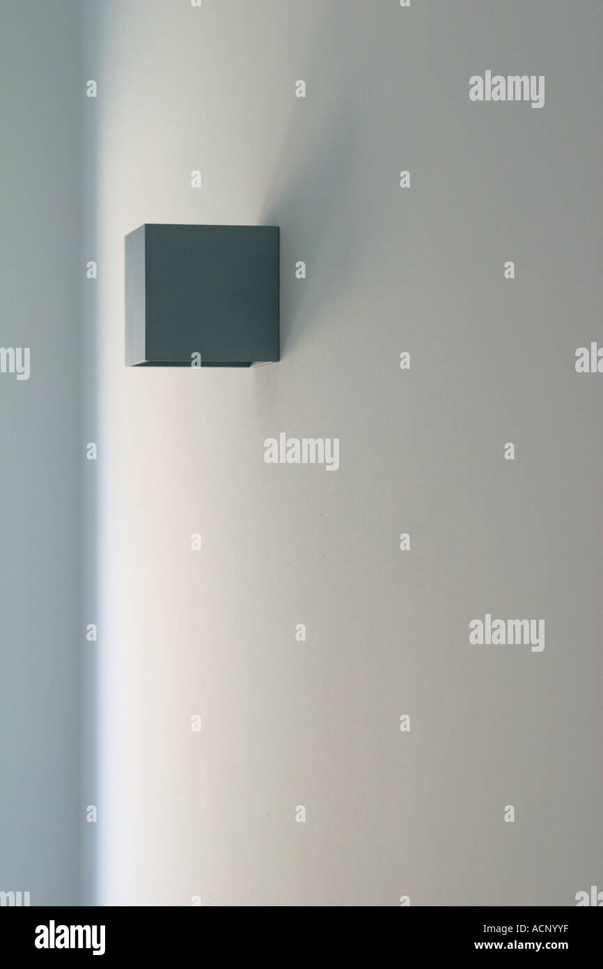 Badezimmerlampe Wand Indoor Lamp Lampe An Der Wand Stock Photo 7544318 Alamy