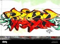 graffiti art graf spraypaint aerosol crime criminal damage ...