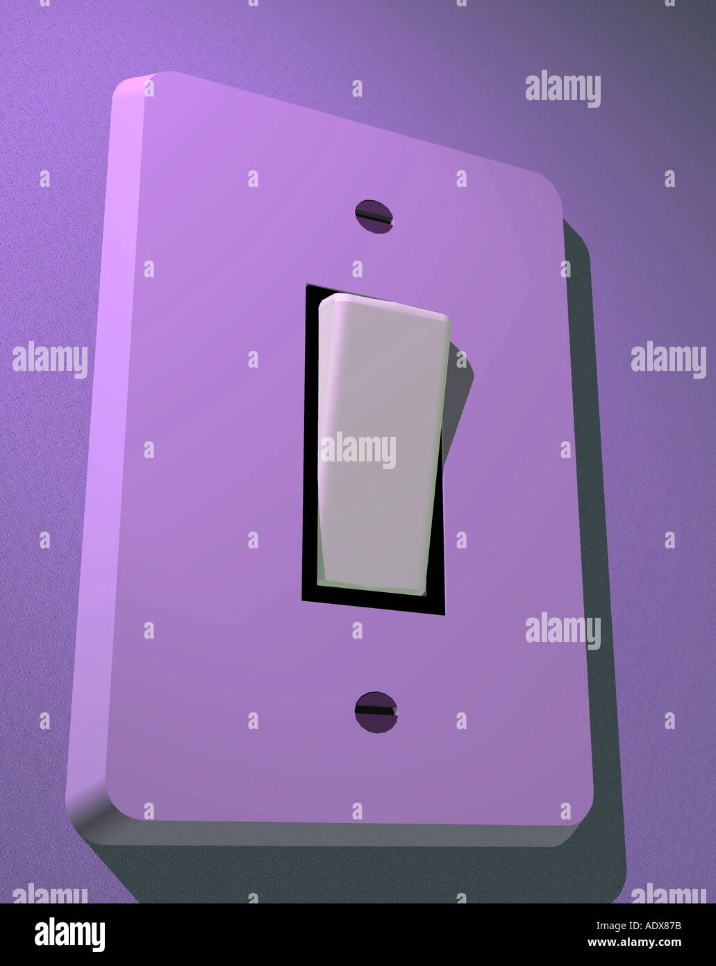 Switch Light Illustrations Purple Switch Light Switches Frame Clic Button Press