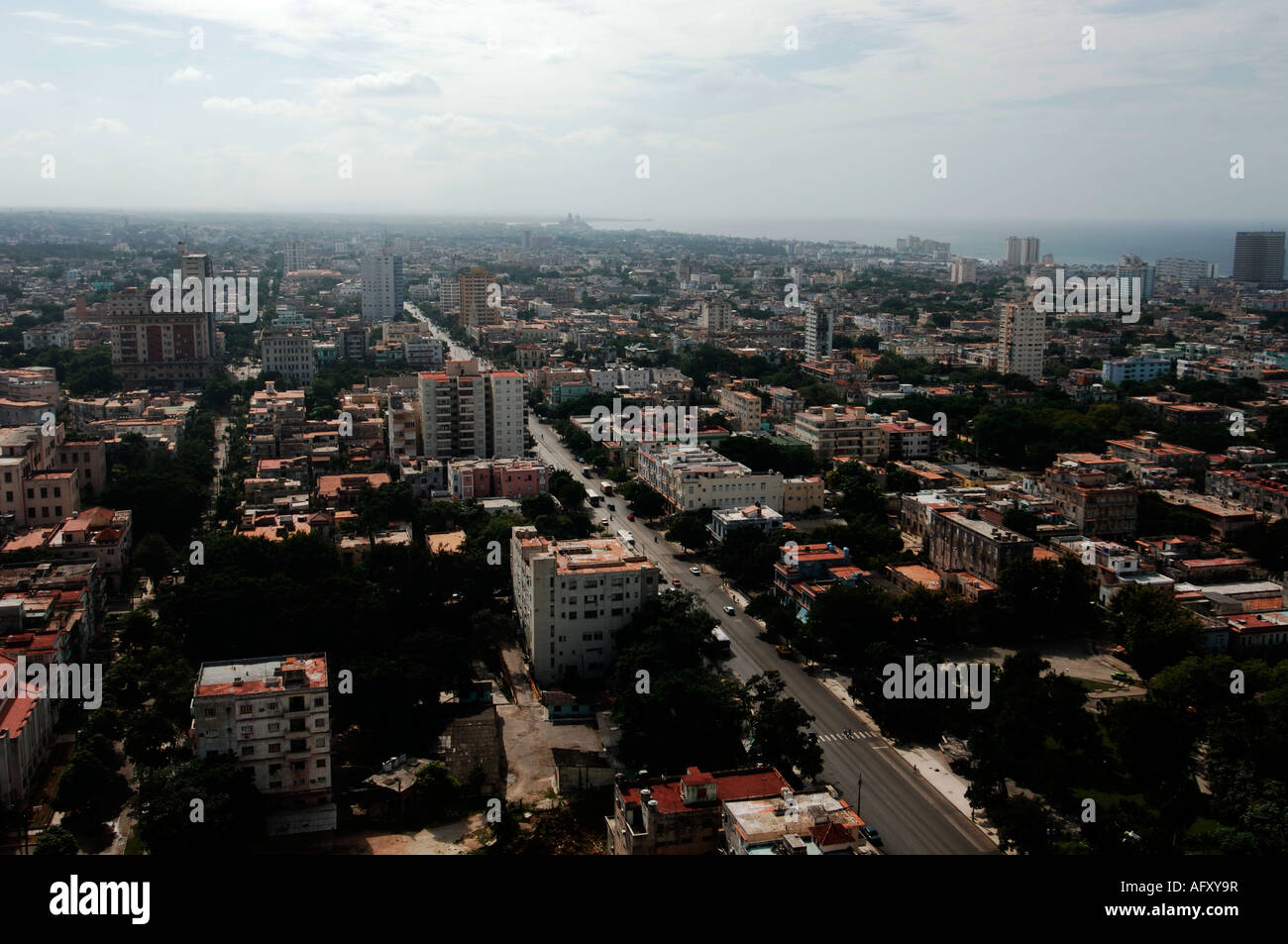 Tryp Habana Libre Cuba Aerial View Havana Vedado Cuba Stock Photos And Aerial View