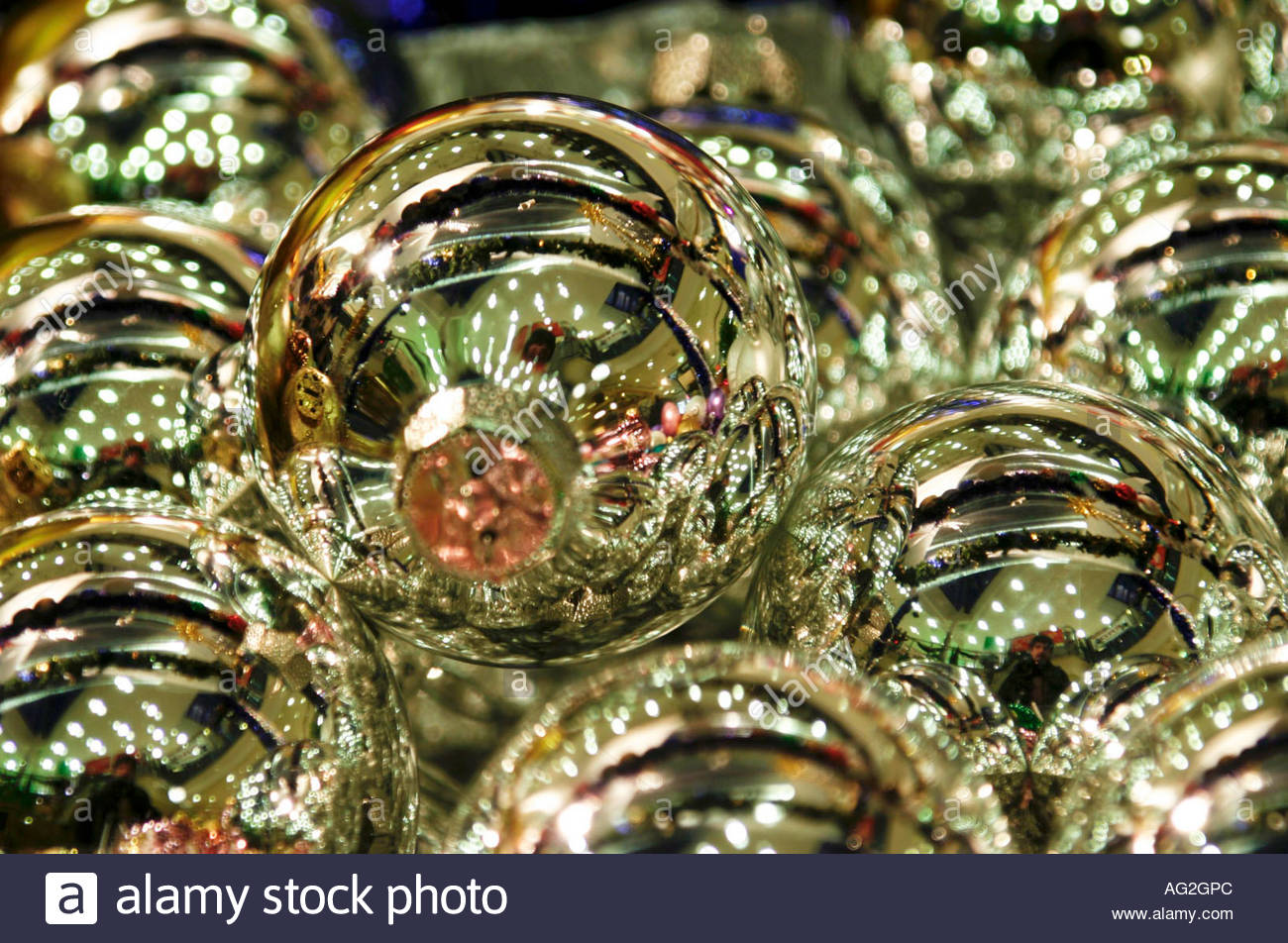 Christbaumkugeln Glas Rot Christbaumkugeln Stock Photo 8042091 Alamy