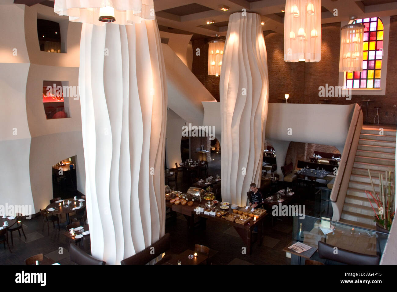 East Hotel Hamburg Germany Hamburg St Pauli East Hotel Restaurant Stock Photo - Alamy