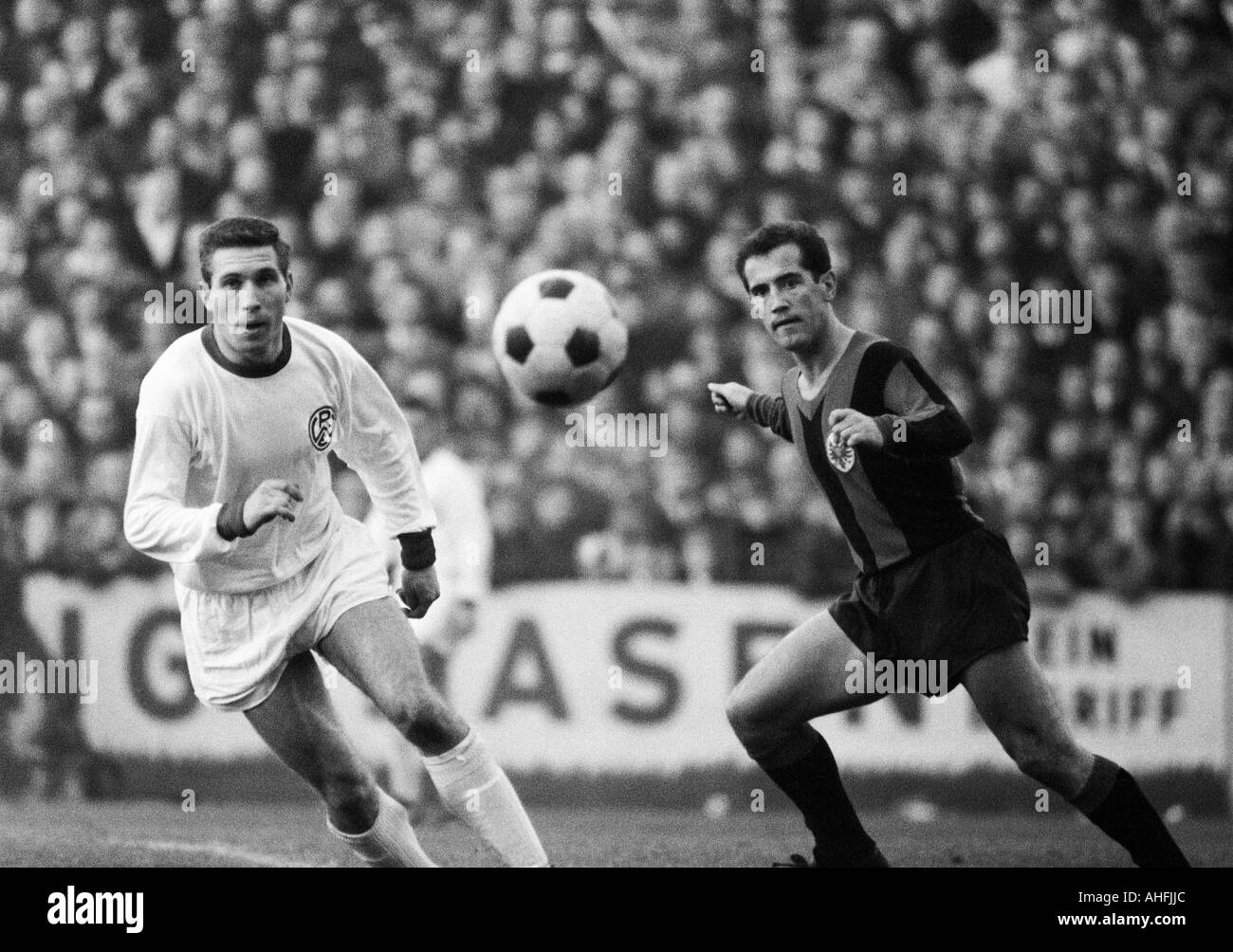 Eintracht Frankfurt Black And White Stock Photos Images Alamy