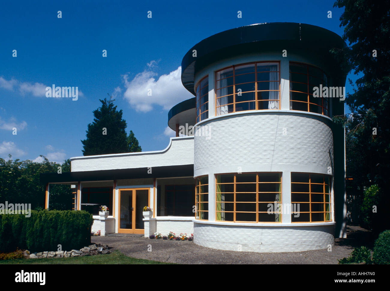 Art Deco Stile The Sun House In Cambridge Uk A Grade 2 Listed Home In