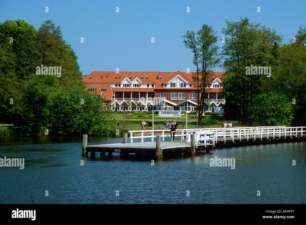 Bad Zwischenahn Hotel Hotel Bad Zwischenahn Stock Photo 14882495 Alamy