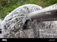 Water leak. Leaking pipes. Burst water pipes leaking ...