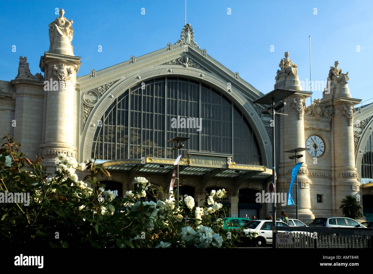 Gare Sncf Daytime Shot Of Tours Railway Station Gare Sncf France Stock