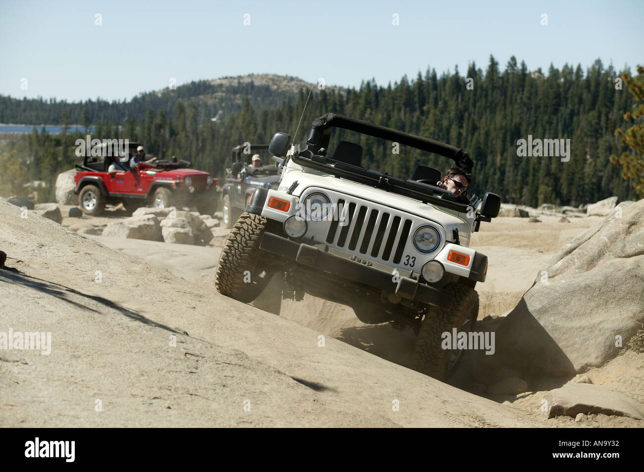 Jeep Trails Jeep Rubicon Trail Stock Photos Jeep Rubicon Trail Stock Images