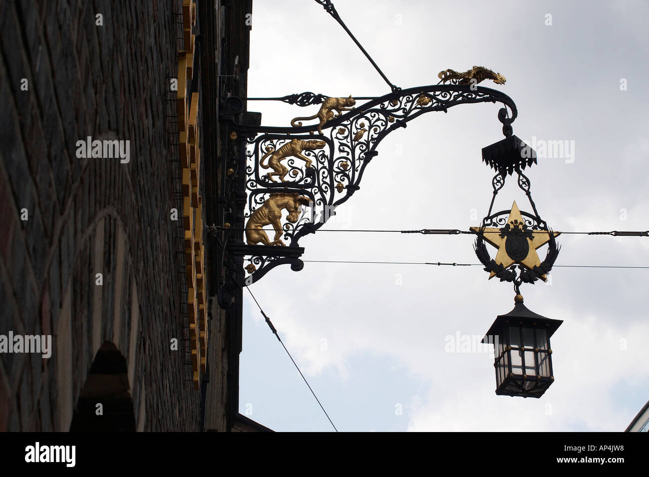Lampen Bremen Marketplace In Bremen Germany Cool Street Lamp Stock Photo