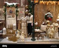 shop window decorations for Christmas Stock Photo ...