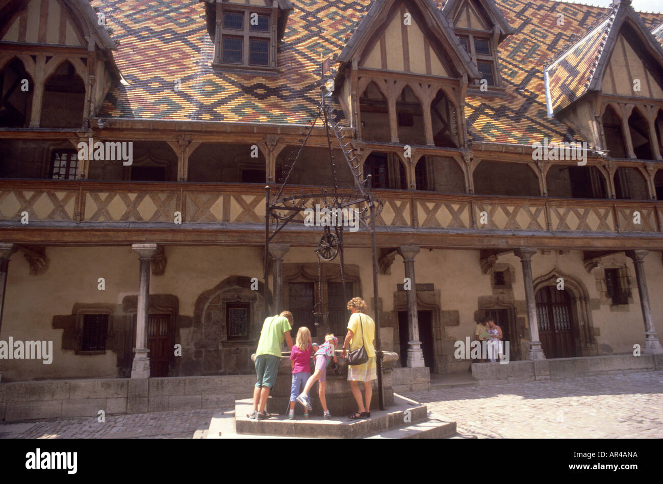 Beaune Hotel The Famous And Much Visited Hospice De Beaune Hotel Dieu In