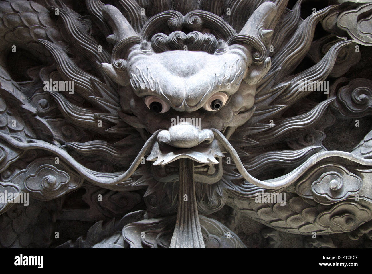 3d Stone Wallpaper Malaysia The Mythical Chinese Dragon Or L 243 Ng Sculpture In Hong San