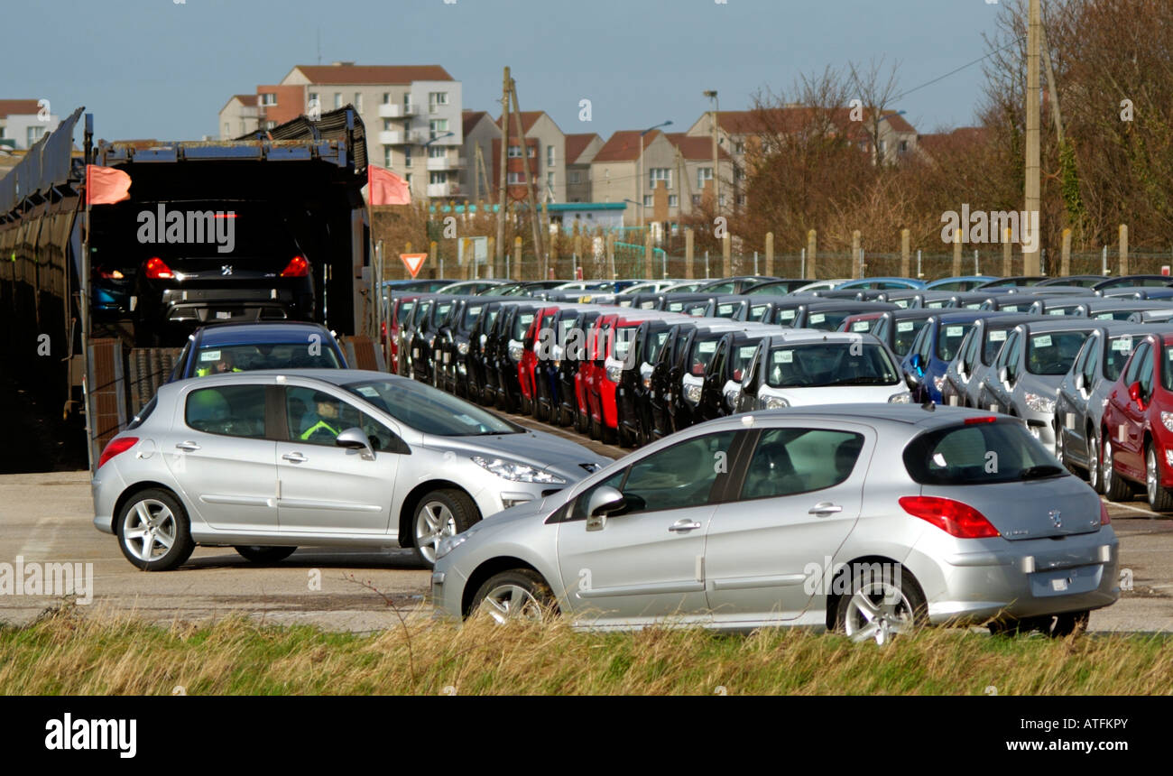 Garage Peugeot Meudon French Car Industry Stock Photos French Car Industry Stock