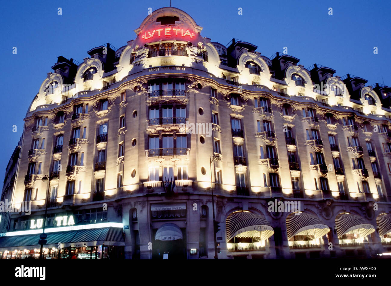 Art Nouveau Palace Hotel Paris Lutetia Palace Hotel Stock Photos Paris Lutetia Palace