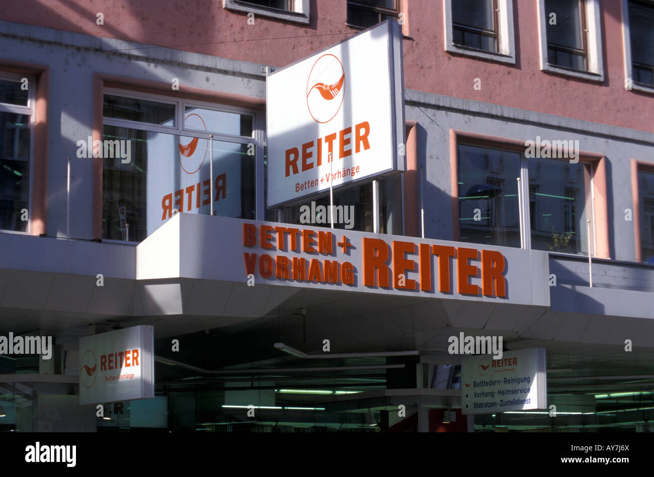 Bettenreiter Shop Stock Photo Alamy - Vorhang Reiter