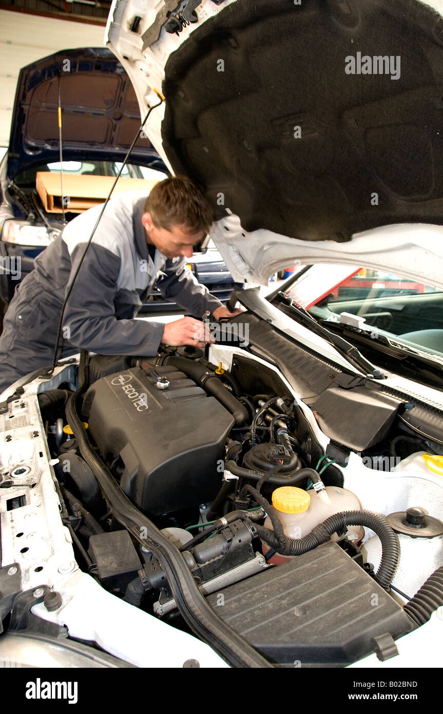 Garage Reparation Netherlands Automobiles Cars Garage Motor Engine Repair Reparation