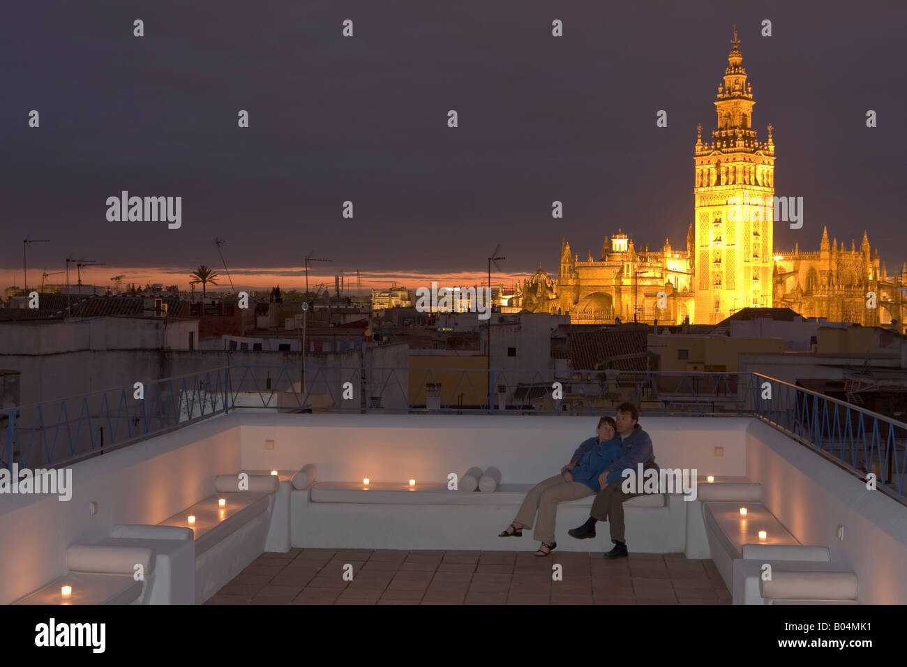 Baños Arabes Calle Aire Couple On The Terrace At Banos Arabes Aire De Sevilla With