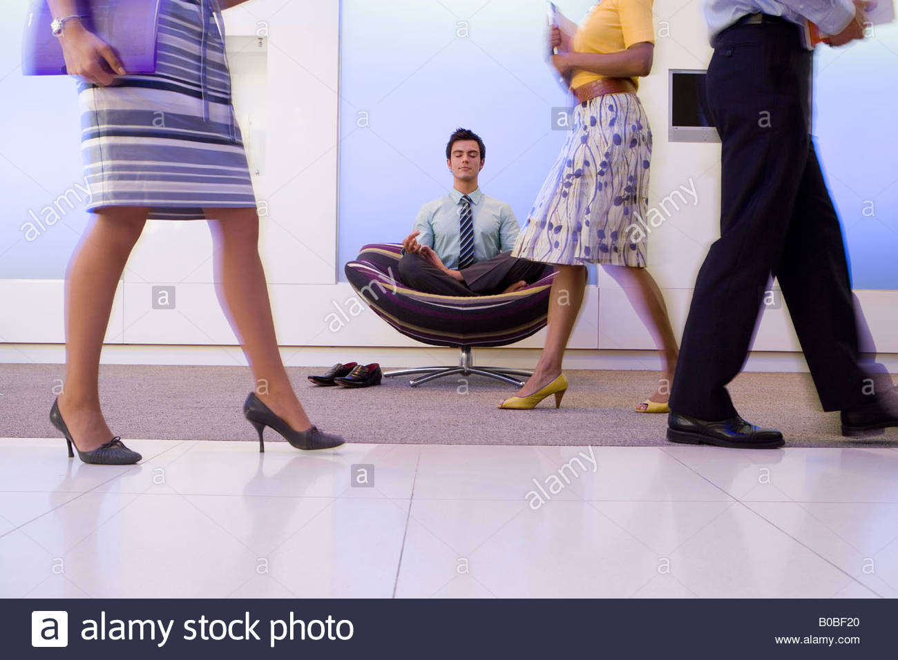 Rocking Chair Yoga Pose Chair Pose Stock Photos And Chair Pose Stock Images Alamy