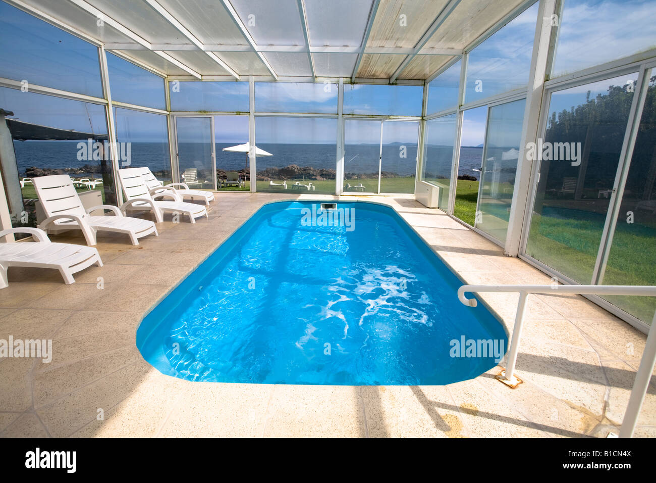 Jacuzzi Pool De Covered Swimming Pool And Jacuzzi In Casapueblo Punta Del Este