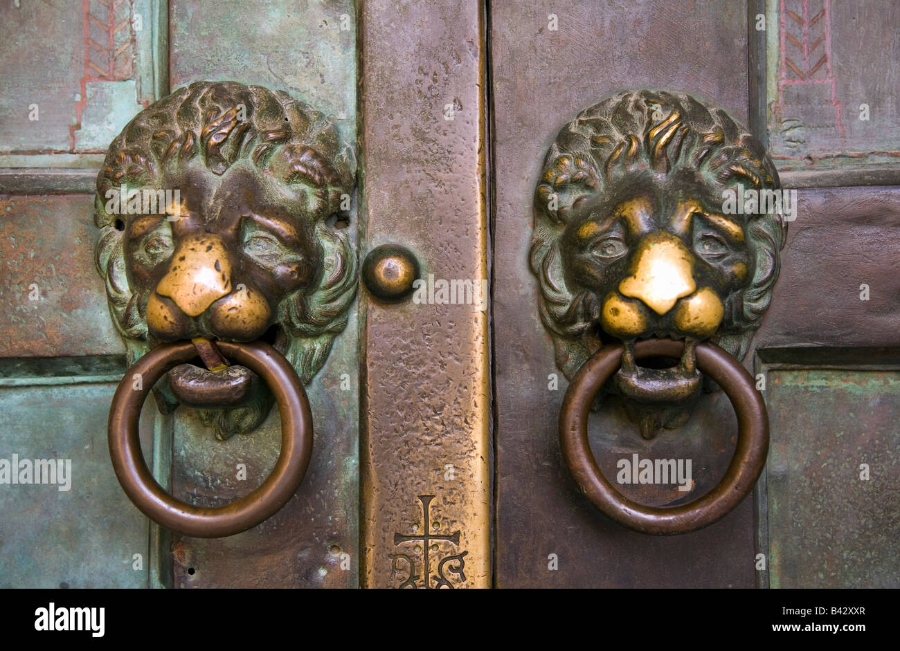 Where To Buy Door Knockers Sant 39andrea Church Door Knockers In Amalfi Italy Europe