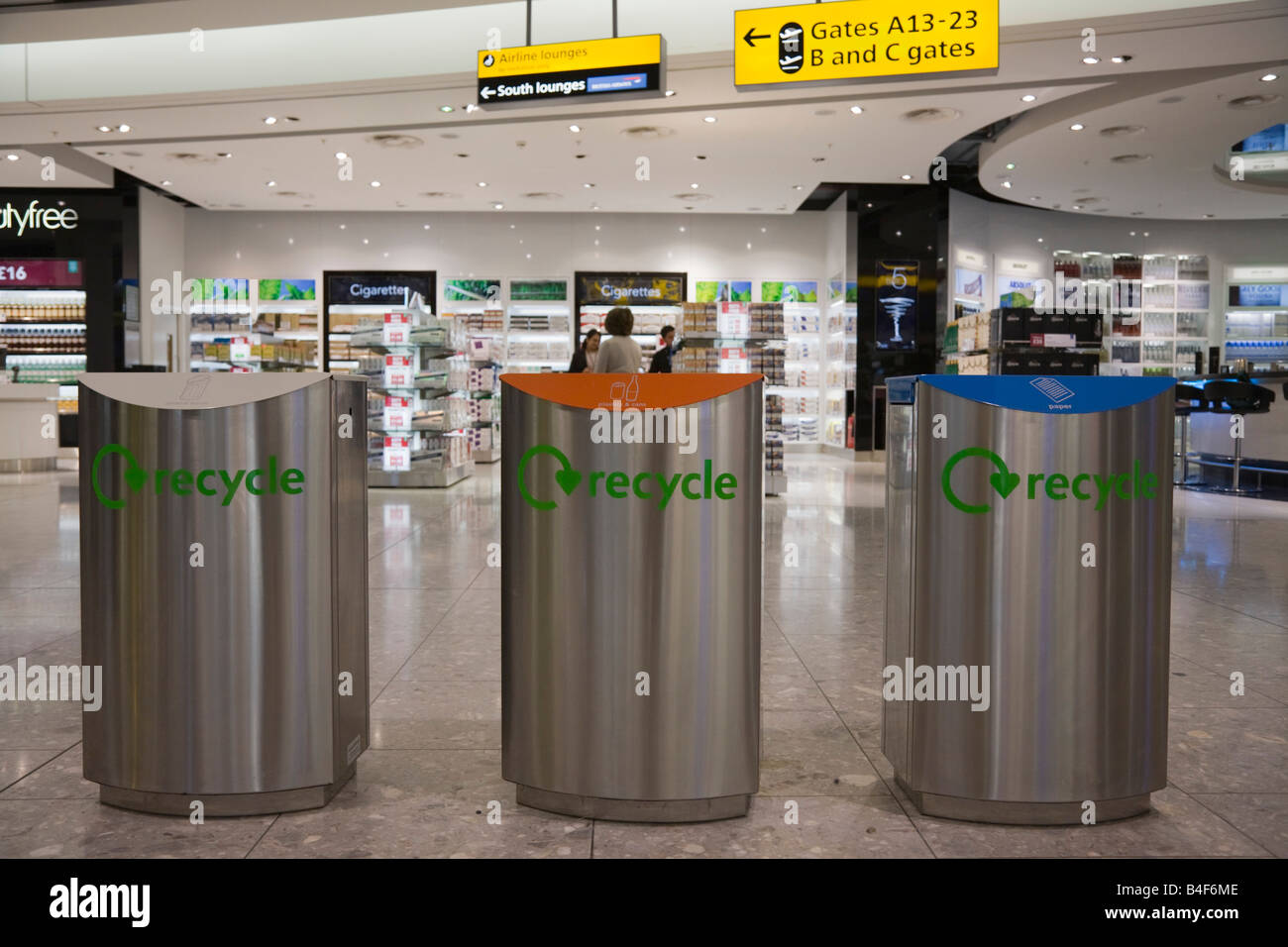Stainless Steel Recycling Bins Britain Uk Three Colour Coded Stainless Steel Recycling Bins