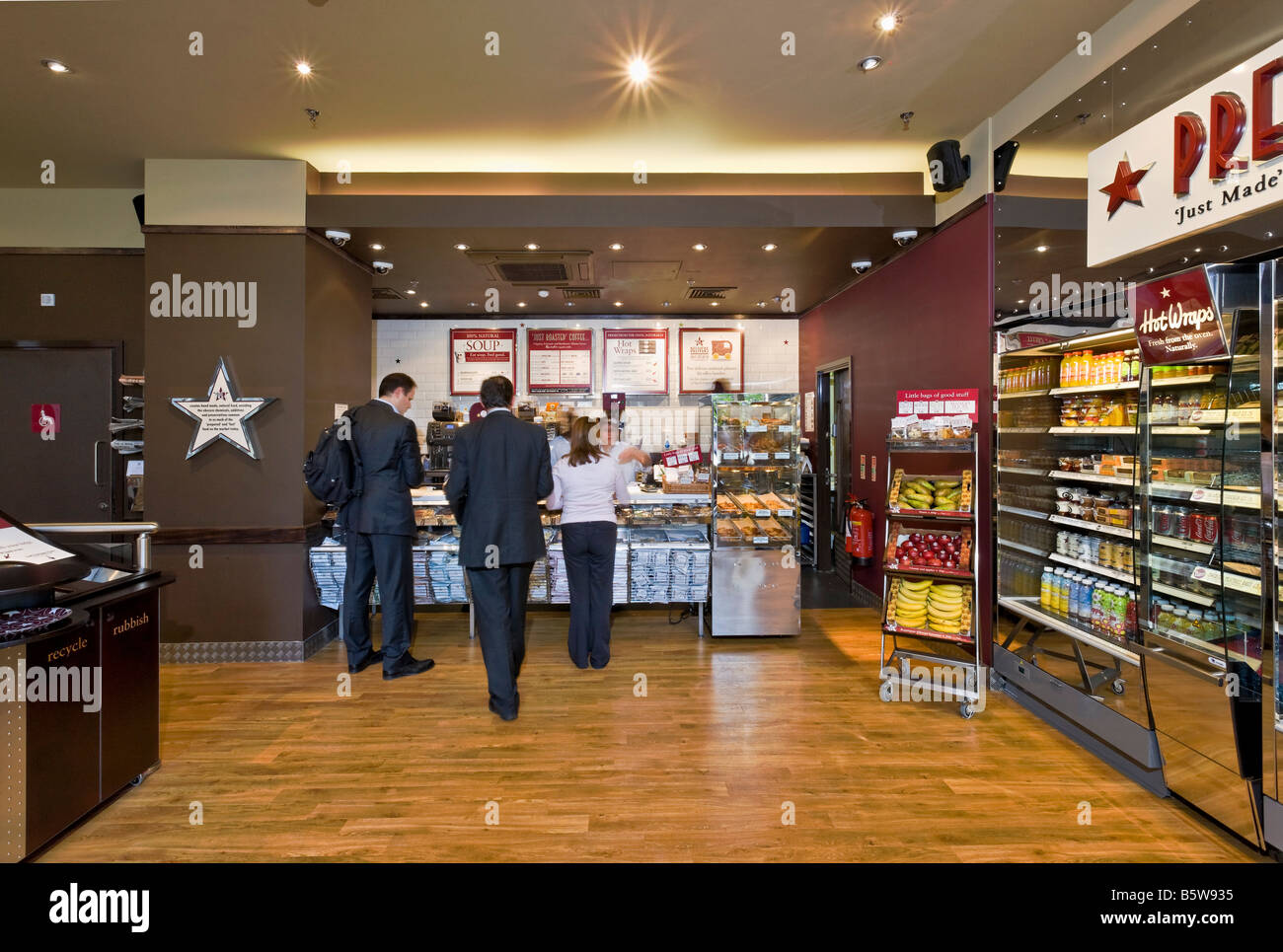Bar A Manger Pret A Manger Sandwich Bar At Aldermanbury Square In The City Of