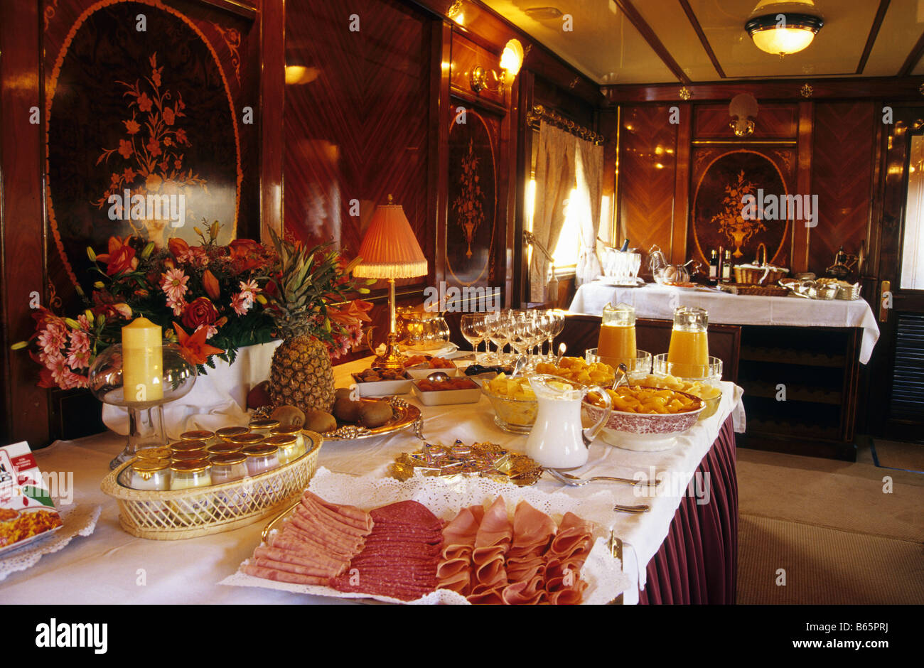 Lamparas Al Andalus Breakfast In Al Andalus Express Train Andalusia Region