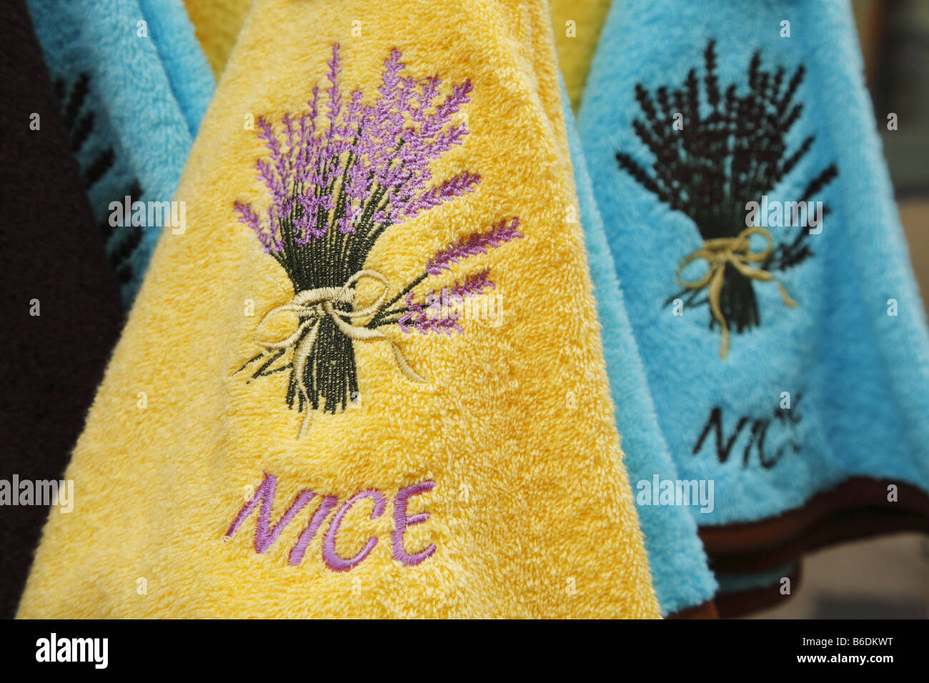 Handtücher Sale French Towels For Sale In Nice France Stock Photo 21199300 Alamy