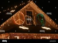 Peace On Earth Christmas Lights | Decoratingspecial.com