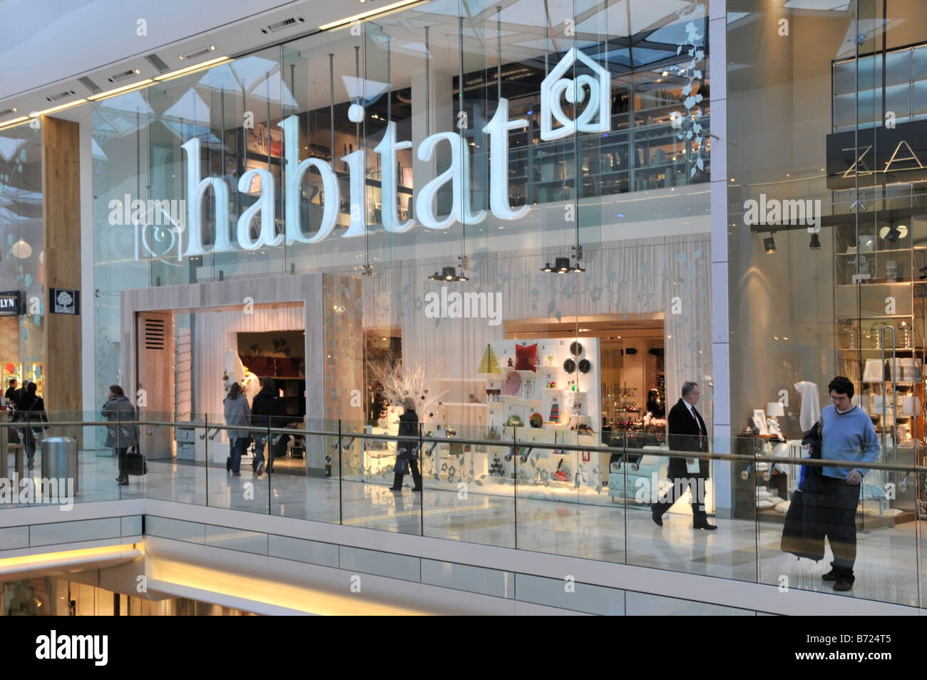 Habitat Outlet Hamburg Shopfront Exterior Mall Stock Photos Shopfront Exterior Mall