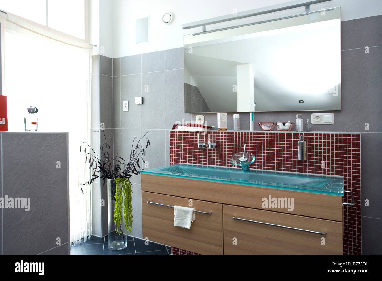 Badezimmer Bilder Modern Modernes Badezimmer Modern Bath Room Stock Photo 21677992 Alamy