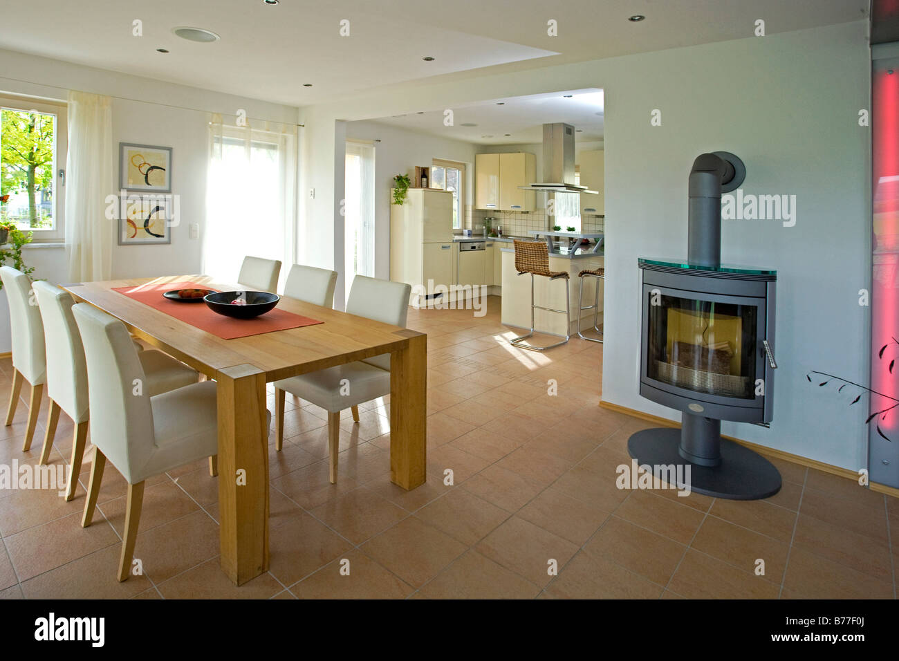 Modernes Esszimmer Modernes Esszimmer Modern Dining Room Stock Photo 21678402 Alamy