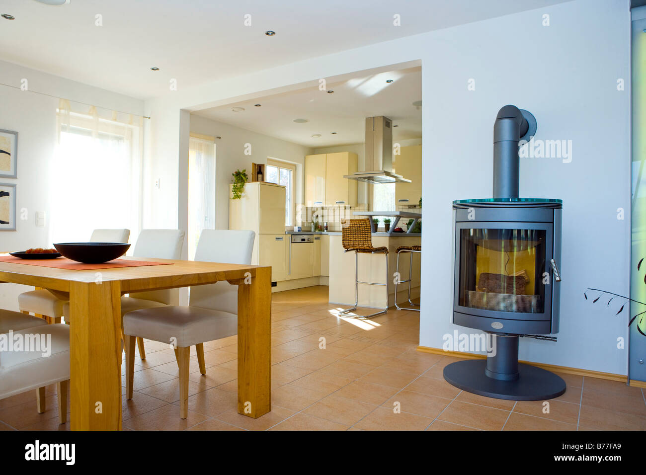 Modernes Esszimmer Modernes Esszimmer Modern Dining Room Stock Photo 21678673 Alamy