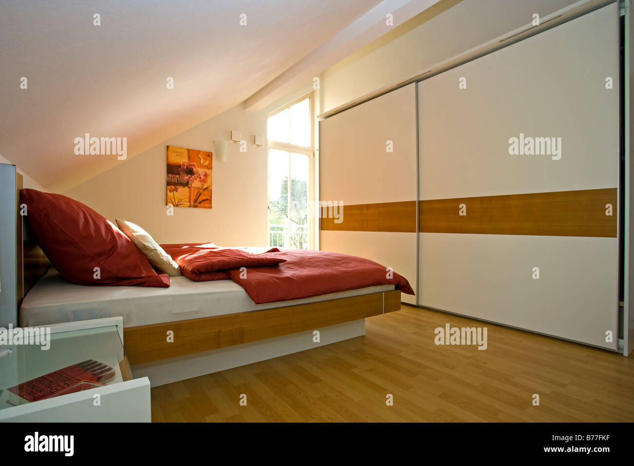 Schlafzimmer Modern Modernes Schlafzimmer Modern Bedroom Stock Photo 21678931 Alamy