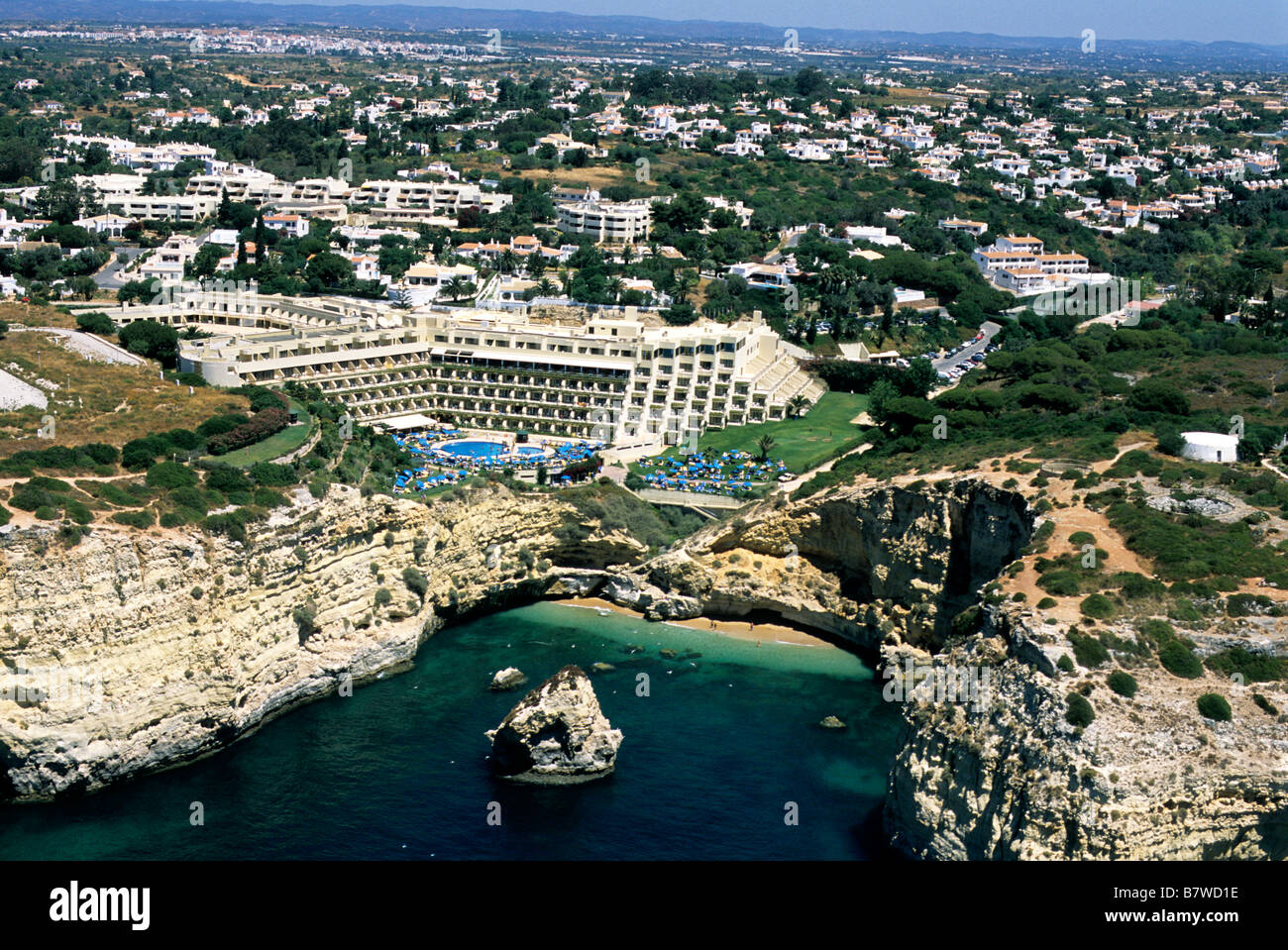 Tivoli Hotels In The Algarve An Aerial View Of The 4 Star Tivoli Carvoeiro Hotel Which