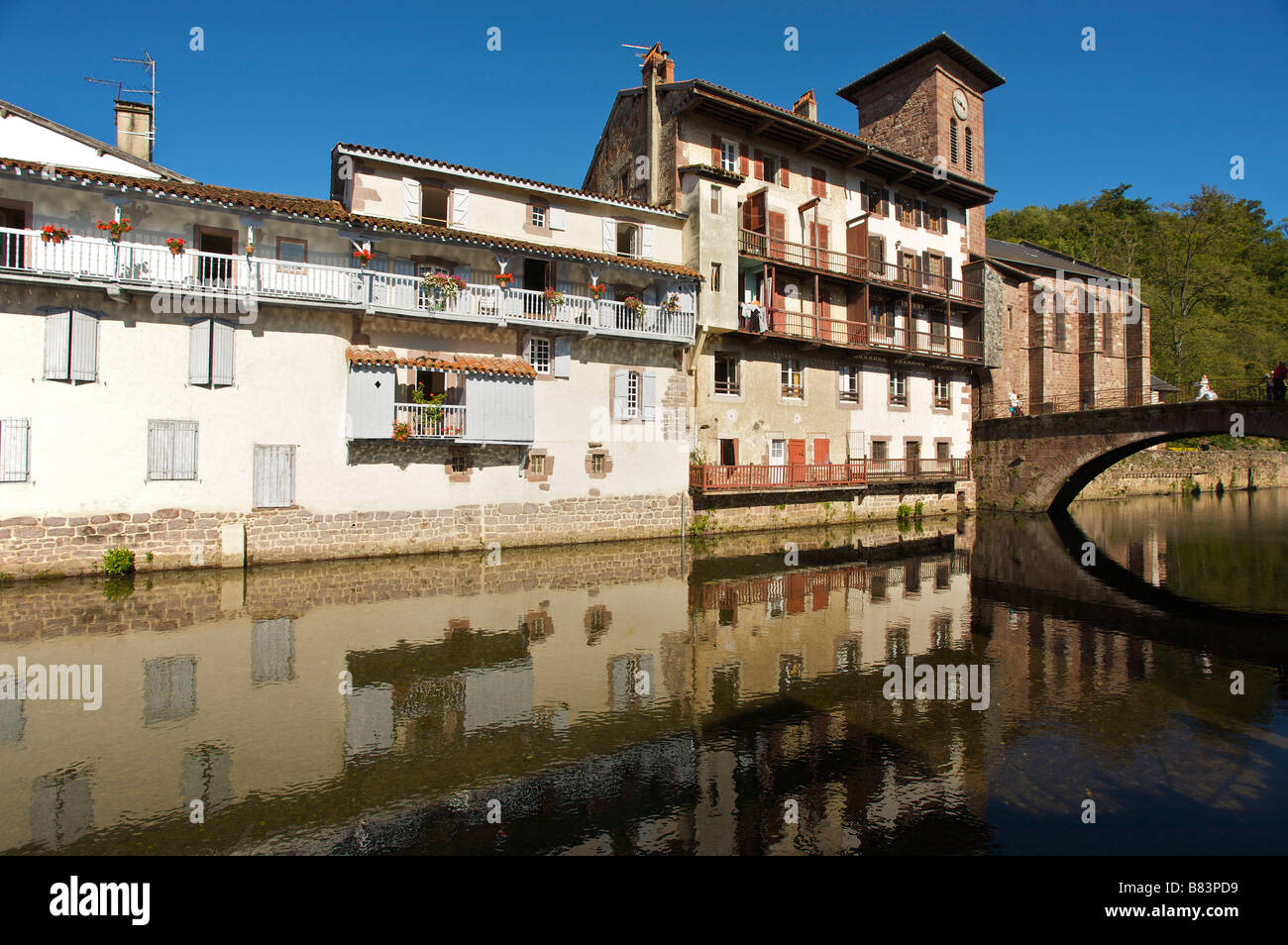 Saint Jean Pied De Port Saint Jean Pied De Port Stock Photos Saint Jean Pied De Port