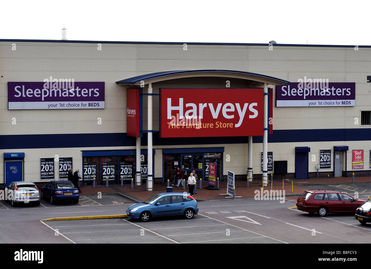 Furniture Warehouse Birmingham Harveys Furniture Stock Photos And Harveys Furniture Stock