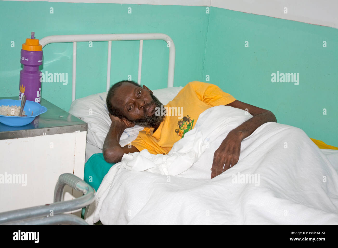 Bed Aids Aids Patient Bed Stock Photos Aids Patient Bed Stock Images Alamy
