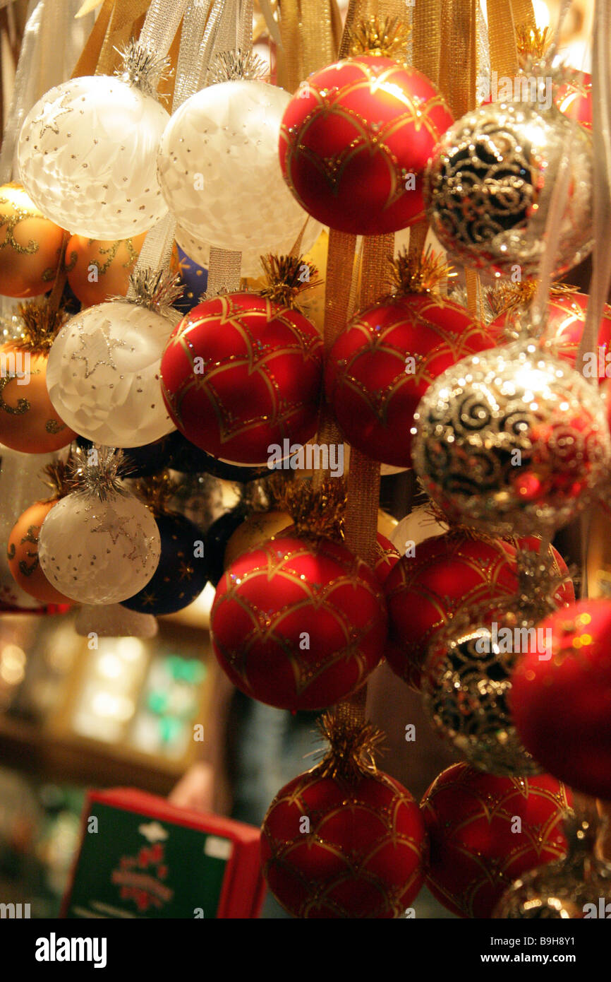 Christmas Tree Stand For Sale Christmas Market Sale Christmas Balls Different Detail Advent