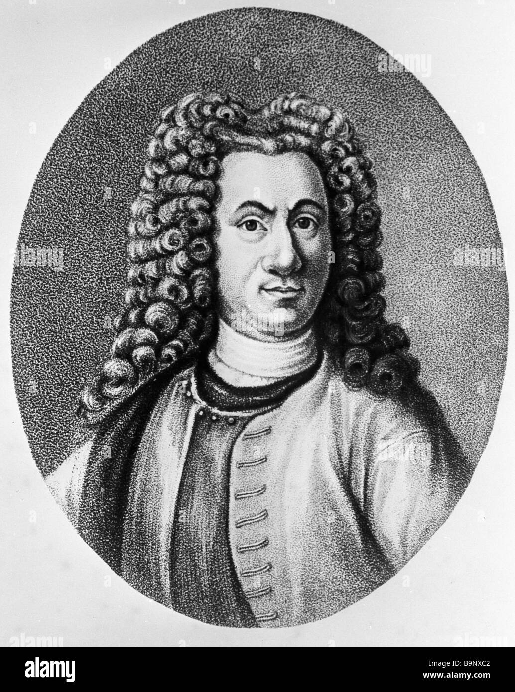 Tati Tabourets Simple Vasily Tatishchev Russian Statesman Engraving By A