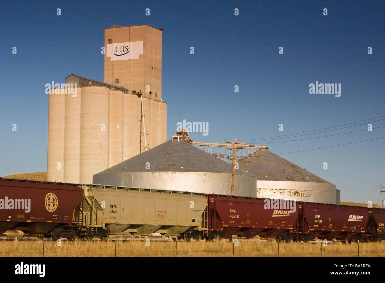 Grain Elevator Montana Stock Photos Grain Elevator