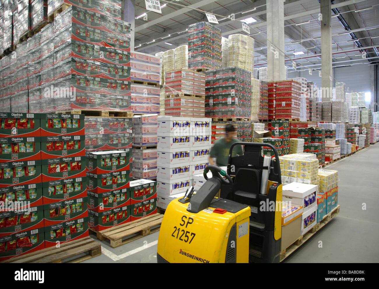 Edeka Logistic Centre In Hamm Germany Stock Photo