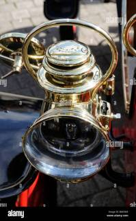 Vintage Brass Car Lamp Stock Photos & Vintage Brass Car ...