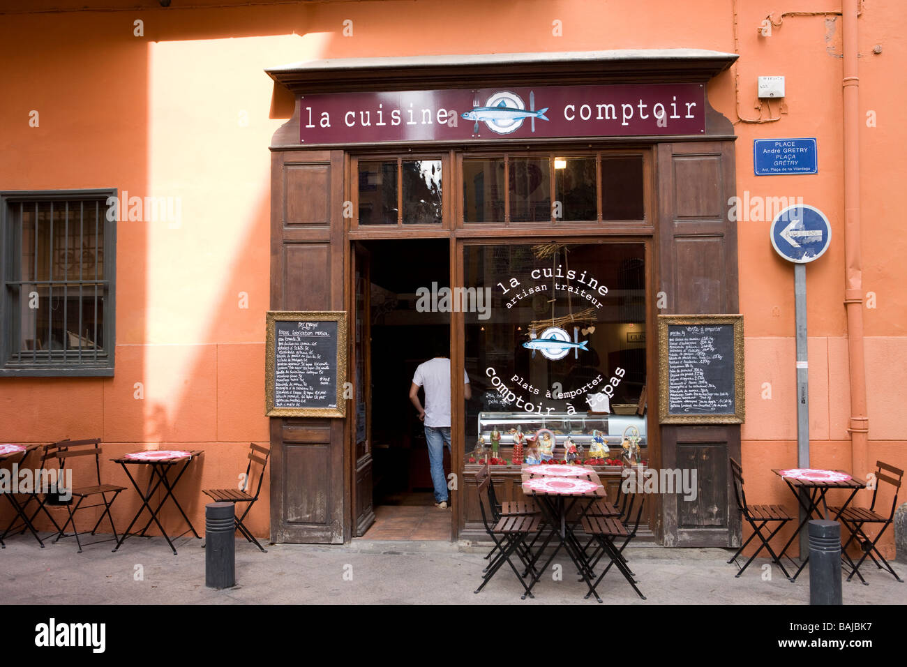 Bar Perpignan Restaurant Bar Perpignan France Stock Photos Restaurant Bar
