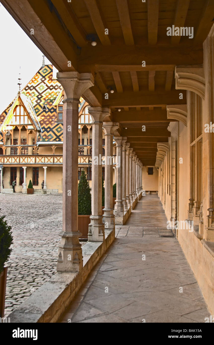 Beaune Hotel Hospices De Beaune Hotel Dieu Court Yard Beaune Cote De Beaune