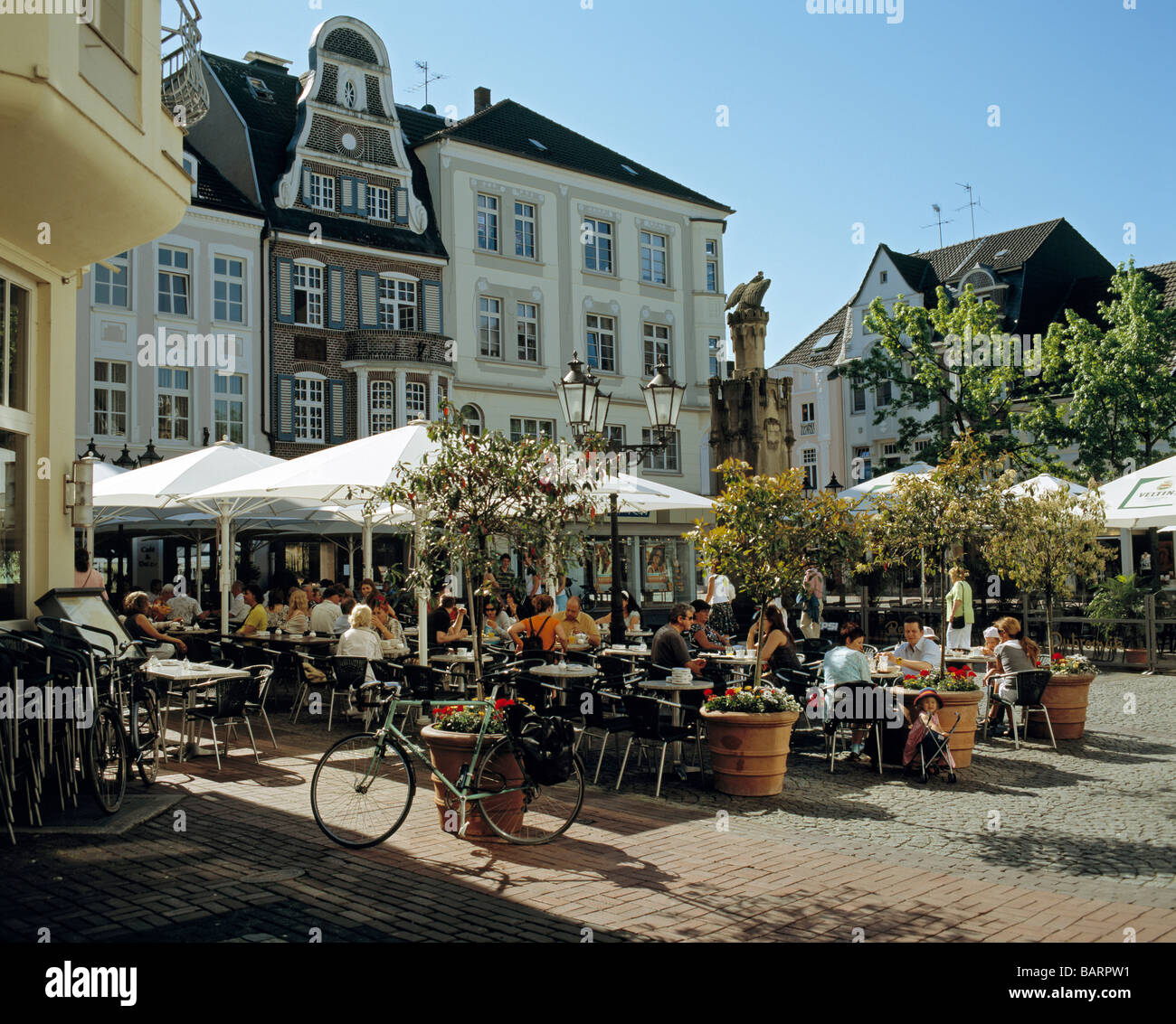 Extrablatt In Moers Frühstücksblog City Centre Of Moers Lower Rhine Germany Showing The Old Market